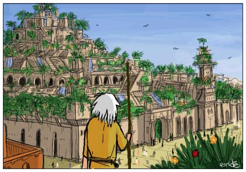 Babylon Hanging Garden 1 By Gribouille On Deviantart