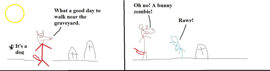 A furry zombie apocalypse webcomic page 1 by Seraph-sama