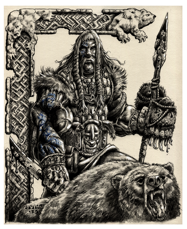 Grimkell Bearslayer by vikingmyke