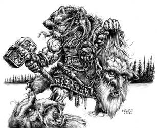 Jotun Decapitation by vikingmyke