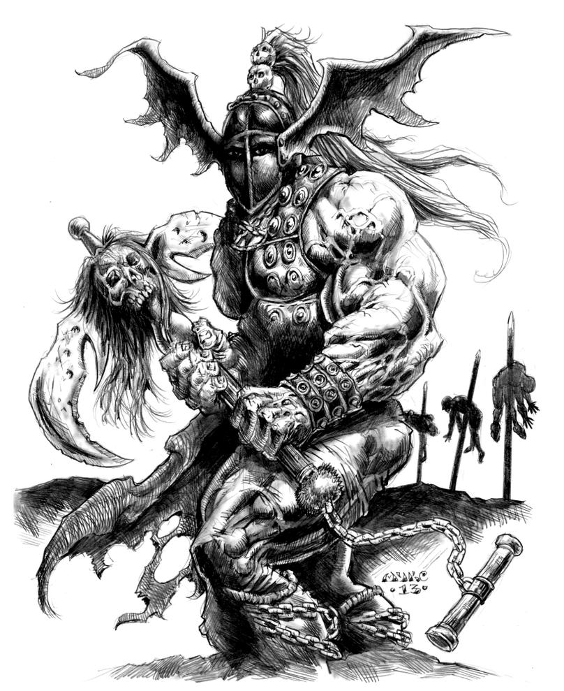 Jun Horde Chieftain by vikingmyke