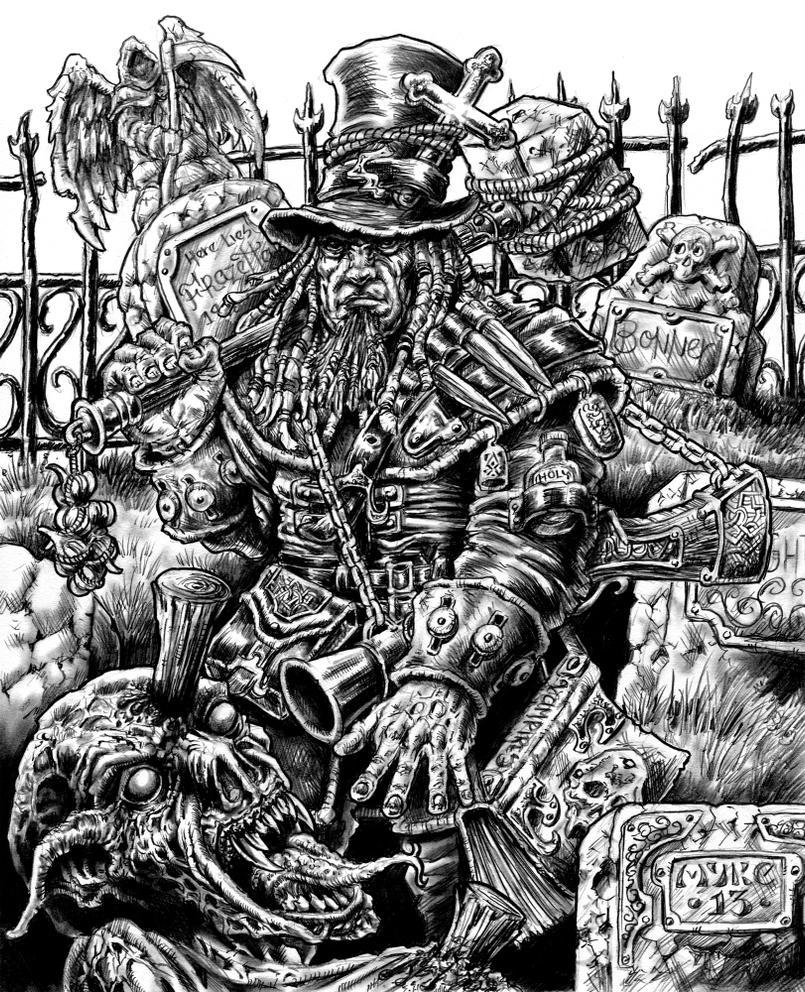 Vampire Hunter by vikingmyke