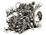 Orc Warlord on Boar Chariot