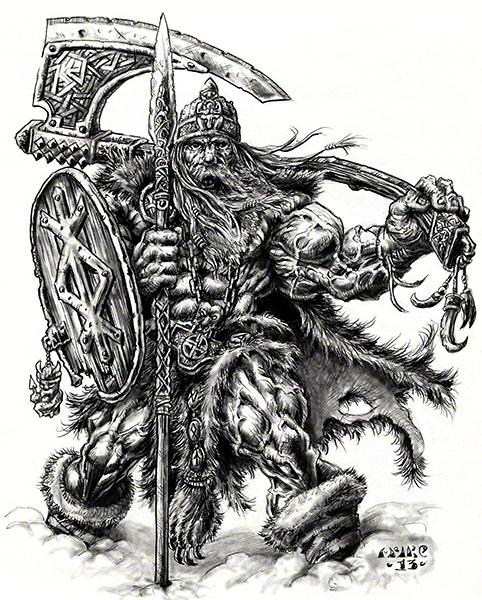 VIKING STRENGTH by vikingmyke