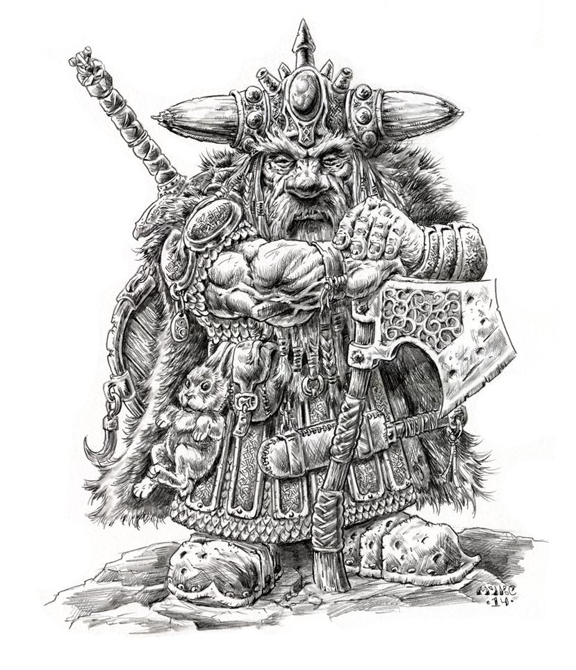 Dwarf by vikingmyke
