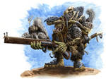 Goblin with Squirrel Launcher