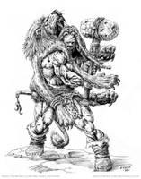Africanus Kickyerassus by vikingmyke