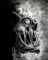 Maggot Head by vikingmyke