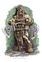 Berserker Speedpaint by vikingmyke
