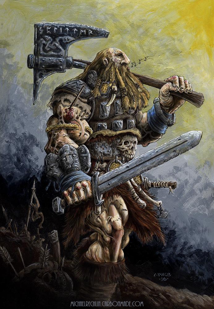 Sinnsyk the Whistler by vikingmyke