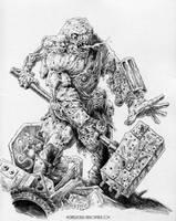 Ribcage Crumbler by vikingmyke