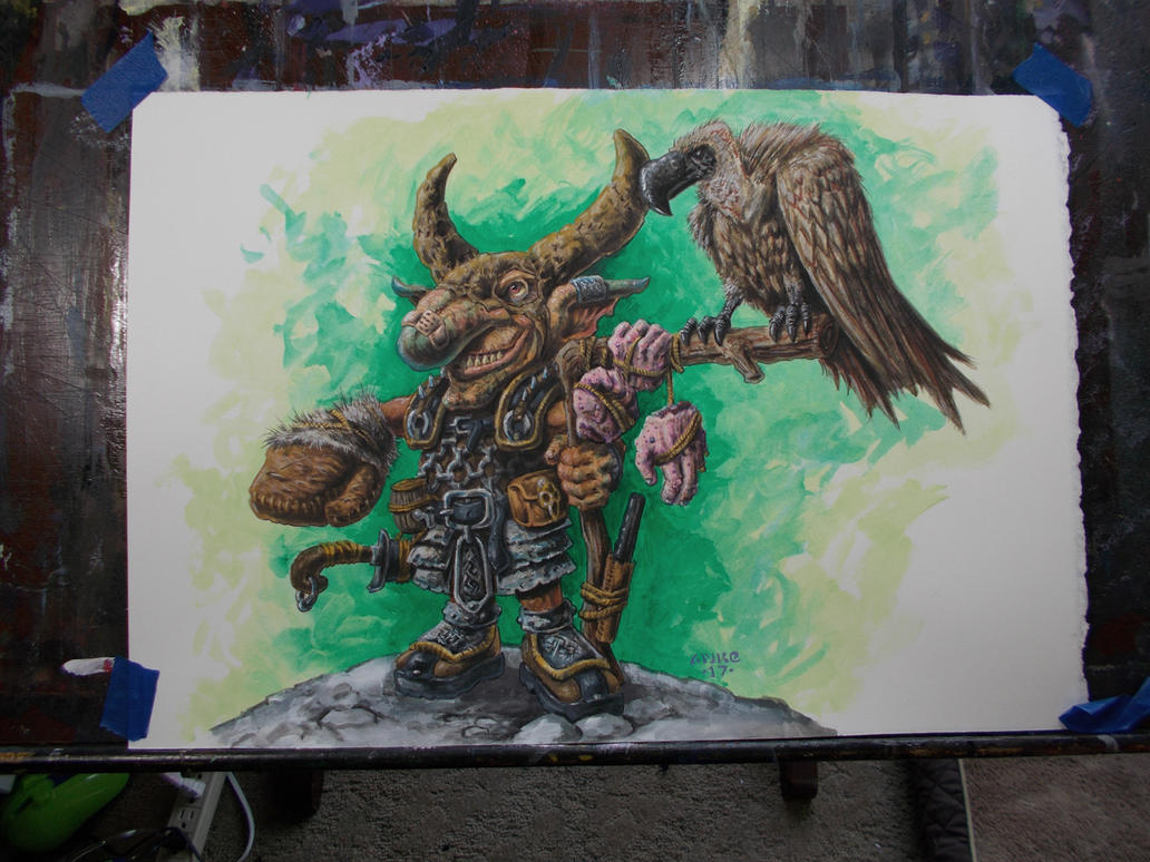 Goblin Vulture Master- FTTF by vikingmyke