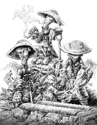 Spleen Team- NEXUS by vikingmyke