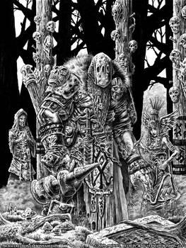 Shamans Prepare A Giant For War