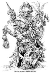 Nurgle Champion by vikingmyke