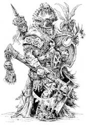 Nurgle Champion by vikingmyke