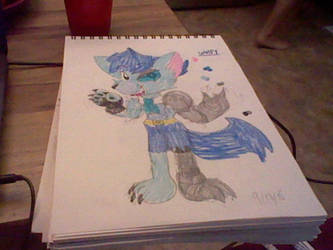 Kirby RBAY OC: Wolfy the Wolf by KadiandSonic