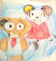 Pete and Panda plays Sonic Mania Part 2::Fanart:: by KadiandSonic
