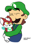 :RQ:Luigi and Chip hug