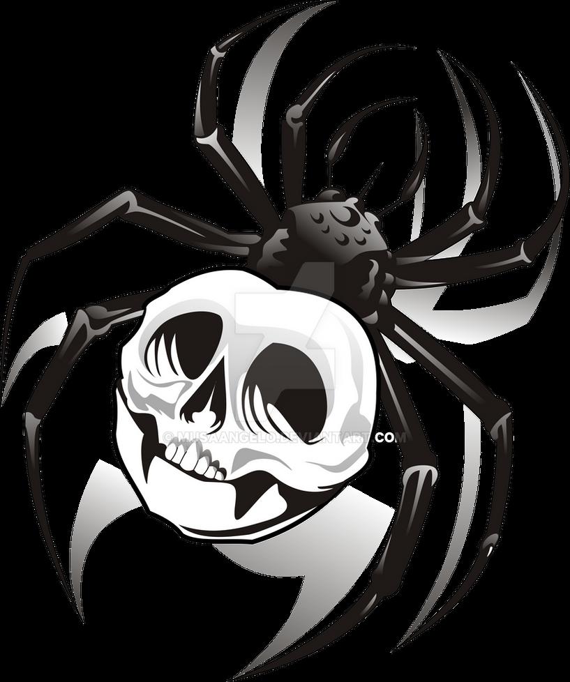 tattoo spider by musaangelo on deviantart. Black Bedroom Furniture Sets. Home Design Ideas