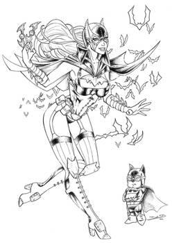 Batgirl steampunk ver.