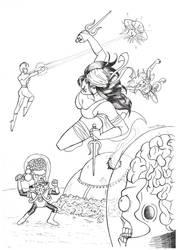 Mars Attacks Kill the Comics Universe