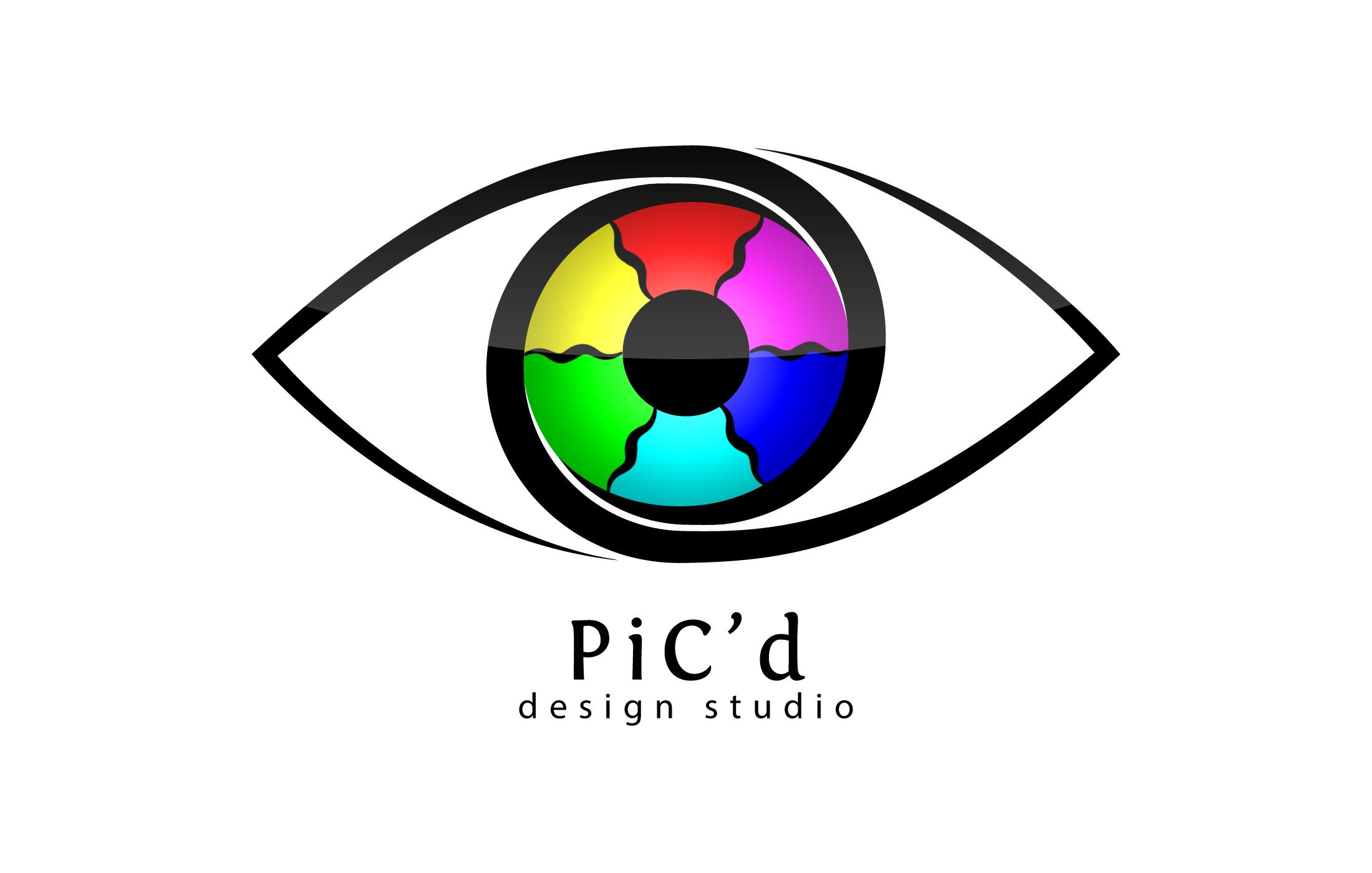 pic d design studio logo by h4all designs interfaces logos logotypes ...