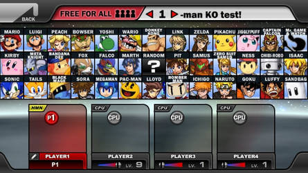 Beta Roster: Edited to look like up-to-date one by AnimezzLover08