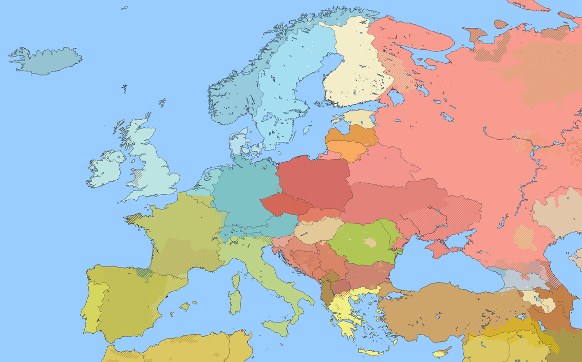 Linguistic Map Of Europe M BAM By Willkozz ...