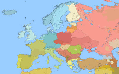 Linguistic map of Europe M-BAM by Willkozz