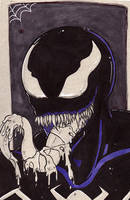 Inktober: Venom by BlackInfinity666
