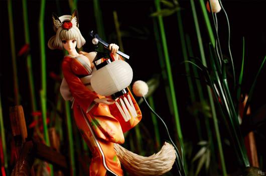 Fox deity on patrol