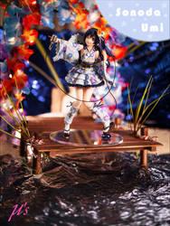 Sonoda Umi - Love Live! School Idol Festival 02 by Wieselhead
