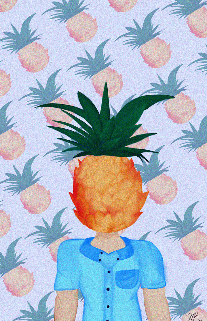 Pineapple Dude by marissa80020