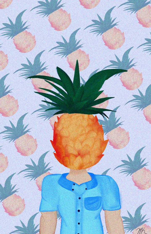 Pineapple Dude by marissa80020