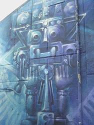 Dios Azteca by GraffMX