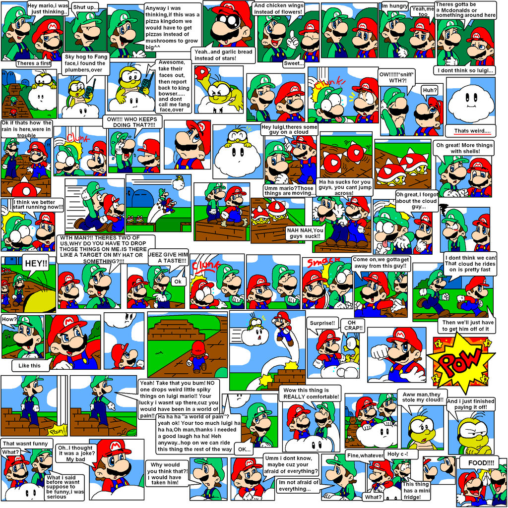 super mario bros page 18 by Nintendrawer on DeviantArt