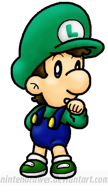 replaced pic baby luigi by nintendrawer on deviantart