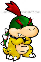 baby bowser by Nintendrawer