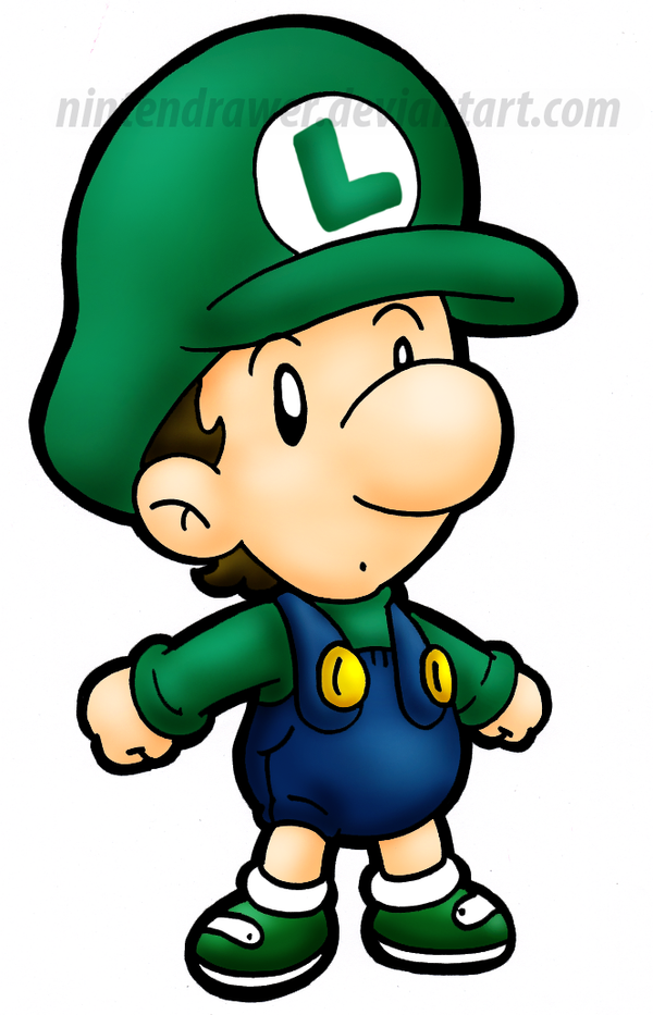 baby luigi 2 by nintendrawer