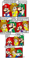 Why mario went alone by Nintendrawer