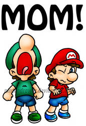 MOM by Nintendrawer