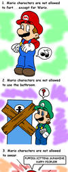 they cant do that .___. by Nintendrawer