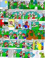 super mario bros page 35 by Nintendrawer