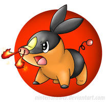 Tepig by Nintendrawer