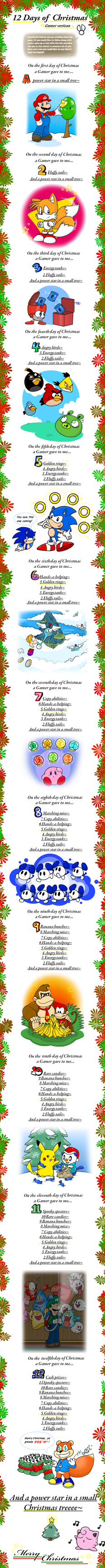 Merry Christmas 2011 by Nintendrawer