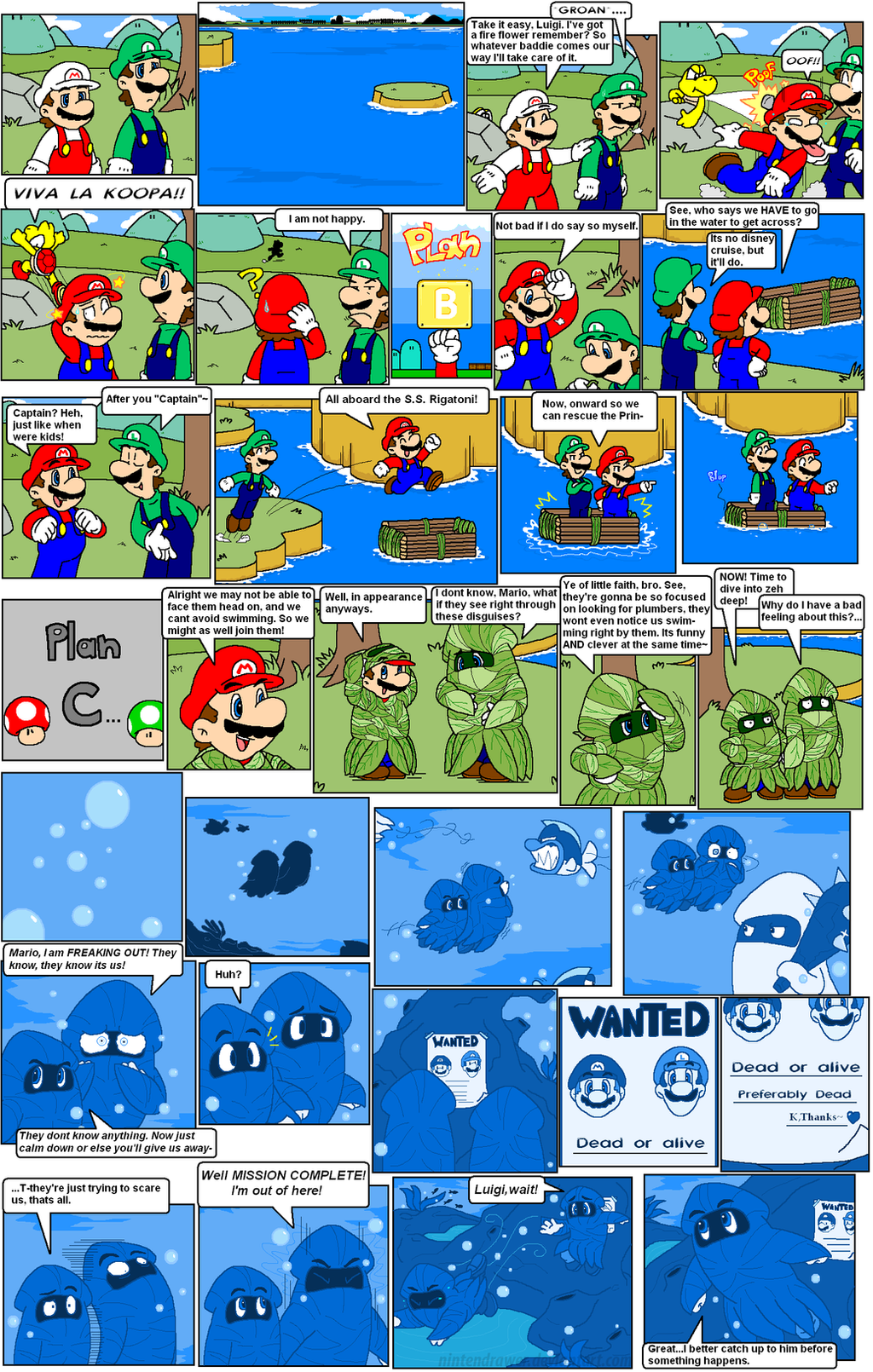 super mario bros page 46 by Nintendrawer on DeviantArt