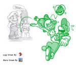 Mario and Luigi Collab- CaptainJamesman's Idea