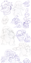 Doodles: Bowser