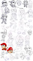 Doodles 3 by Nintendrawer